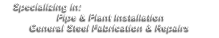 Specializing in: 